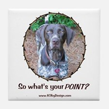 your POINT? Tile Coaster