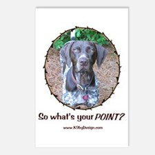 your POINT? Postcards (Package of 8)