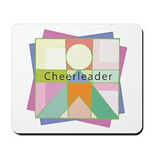 Abstract Cheerleader Mousepad