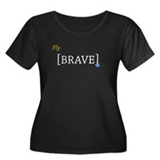 Fly [BRAVE] Plus Size T-Shirt