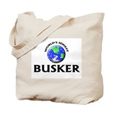 World's Sexiest Busker Tote Bag