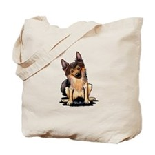 Sable German Shepherd Tote Bag