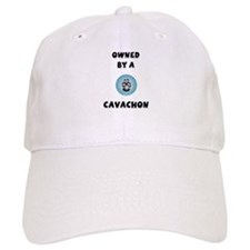 Owned by a Cavachon Baseball Cap