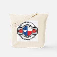 Texas Boxing Tote Bag