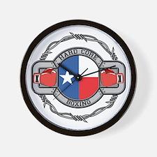 Texas Boxing Wall Clock