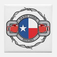 Texas Boxing Tile Coaster