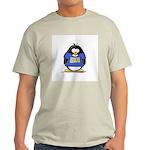 Penguins Make Me Happy Pengui Ash Grey T-Shirt