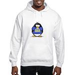 Penguins Make Me Happy Pengui Hooded Sweatshirt