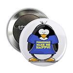Penguins Make Me Happy Pengui Button