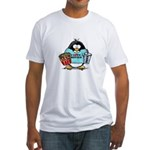 Movie Penguin Fitted T-Shirt