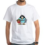 Movie Penguin White T-Shirt