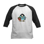 Movie Penguin Kids Baseball Jersey