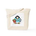 Movie Penguin Tote Bag
