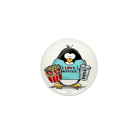 Movie Penguin Mini Button (100 pack)