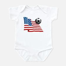 U.S. Soccer Flag Infant Bodysuit