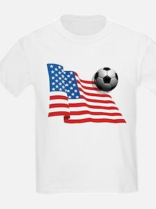 U.S. Soccer Flag T-Shirt