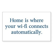 home wifi Decal