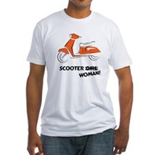 Scooter Woman (Orange) Shirt
