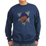 Chocolate lab Sweatshirt (dark)