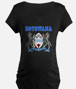 Botswana Coat Of Arms Designs T-Shirt