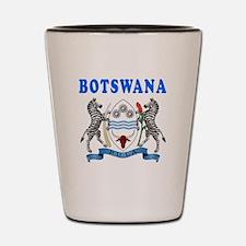 Botswana Coat Of Arms Designs Shot Glass
