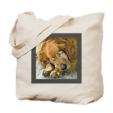 Golden Retriever Tote Bag 10 commandments for dog