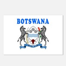Botswana Coat Of Arms Designs Postcards (Package o