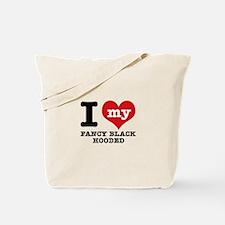 I love my Fancy Black Hooded Tote Bag