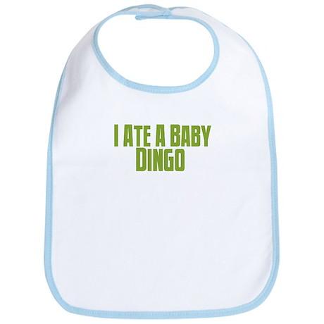 I ate a baby dingo. Bib