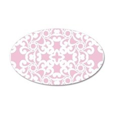Baby Pink & White Lace Tile Wall Decal