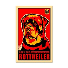 Obey the Rottweiler! Propaganda Posters