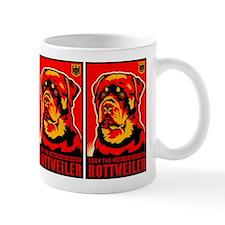 Obey the ROTTWEILER! Propaganda Mug
