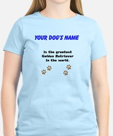 Greatest Golden Retriever In The World T-Shirt