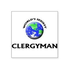 World's Sexiest Clergyman Sticker
