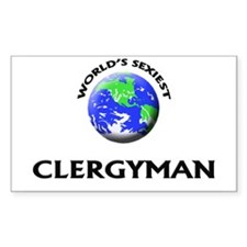 World's Sexiest Clergyman Decal