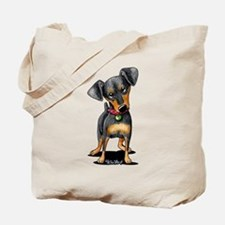 Min Pin Tote Bag