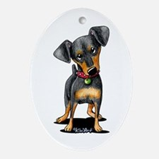 Min Pin Ornament (Oval)
