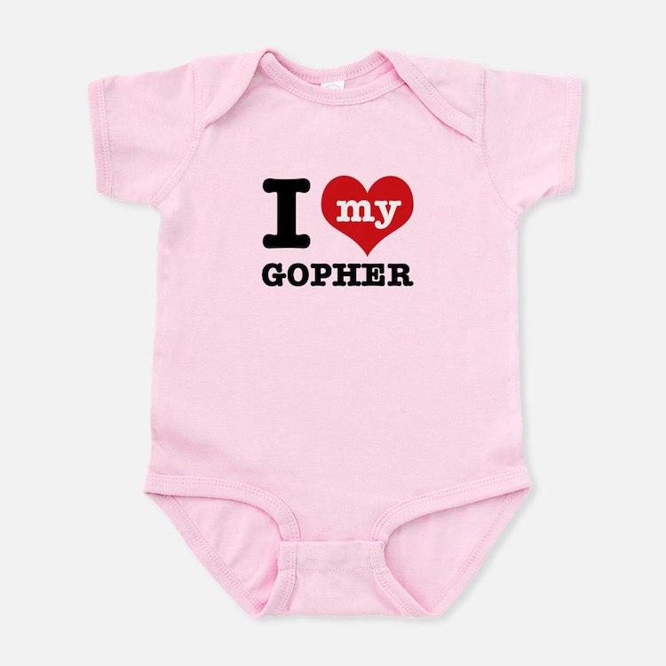 I love my Gopher Infant Bodysuit