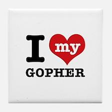 I love my Gopher Tile Coaster