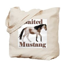Pinto Gaited Mustang Tote Bag