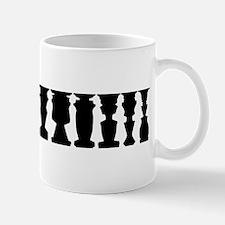 Optical Illusion of Standing People Mug