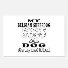 Belgian Sheepdog not just a dog Postcards (Package