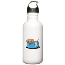 Mountain Cur Puppy Water Bottle