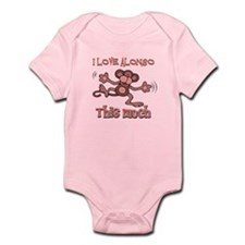 I love Alonso this much Infant Bodysuit