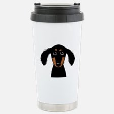 Cute Dachshund Stainless Steel Travel Mug
