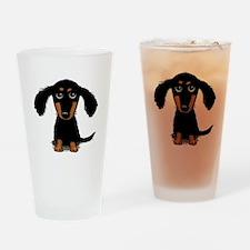 Cute Dachshund Drinking Glass