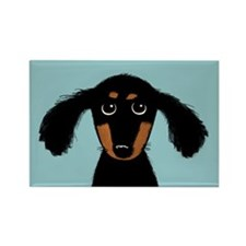 Cute Dachshund Rectangle Magnet