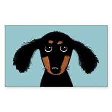 Cute Dachshund Decal