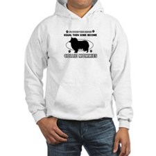 Collie mommies are better Hoodie