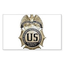 DEA Badge Decal